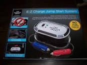 THE SHARPER IMAGE Misc Automotive Tool E-Z CHARGE JUMP START SYSTEM